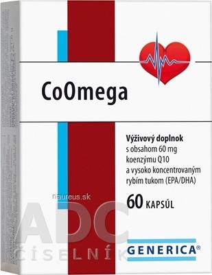 GENERICA spol. s r.o. GENERICA CoOmega cps 1x60 ks 60 ks
