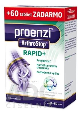 Proenzi s.r.o. Proenzi ArthroStop RAPID+ tbl 180+60 zadarmo (240 ks) 240