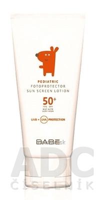 BABÉ DIEŤA Mlieko na opaľovanie SPF 50+ (Pediatric sunscreen Lotion) 1x100 ml