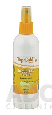 Chemek laboratoře,spol. s r.o. TOP GOLD Deodorant s arnikou+Tea Tree Oil sprej 1x150 g 150 g