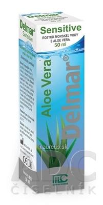 MEDOCHEMIE LTD. Delmar Sensitive nosový sprej s Aloe Vera 1x50 ml 50 ml