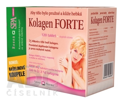 RosenPharma, a.s. KOLAGÉN Forte - RosenPharma tbl 1x120 ks 120 ks