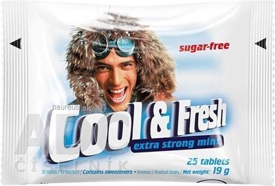 Cool & Fresh extra strong mint pastilky 1x25 ks