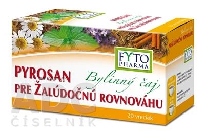 FYTOPHARMA, a.s. FYTO Bylinný čaj PYROSAN pre žalúdočnú rovnováhu porciovaný 20x1,5 g (30 g)