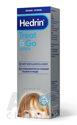 HEDRIN TREAT&GO LOTION proti všiam a hnidám 1x50 ml