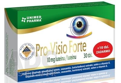 UNIMED PHARMA spol. s r.o. Pro-Visio Forte 40 ks