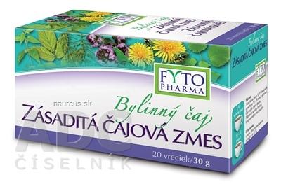 FYTOPHARMA, a.s. FYTO Bylinný čaj ZÁSADITÁ ČAJOVÁ ZMES 20x1,5 g (30 g) 20 x 15 g