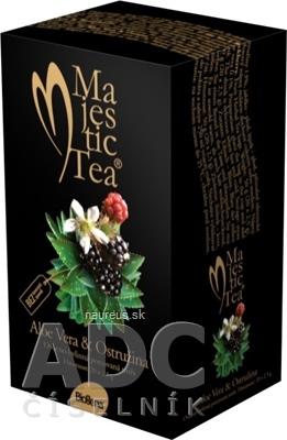 BIOGENA CB spol. s r.o. Biogena Majestic Tea Aloe Vera & Ostružina ovocno-bylinná zmes 20x2,5 g (50 g)