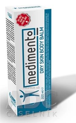 DERMATONICS LTD medimento balzam na suchú pokožku tela 1x200 ml 200ml