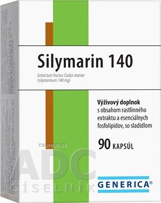 GENERICA spol. s r.o. GENERICA Silymarin 140 cps 1x90 ks 90 ks
