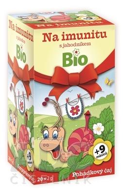 MEDIATE s.r.o. APOTHEKE ROZPRÁVKA Na imunitu s jahodou Bio bylinný čaj (od ukončeného 9. mesiaca) 20x2 g (40 g)