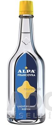 ALPA FRANCOVKA liehový bylinkový roztok 1x160 ml