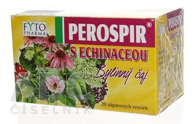 FYTOPHARMA, a.s. FYTO PEROSPIR S ECHINACEOU Bylinný čaj 20x1,5 g (30 g) 30 g