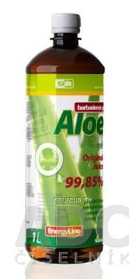 VIRDE spol. s r.o. VIRDE ALOE VERA barbadensis gél original juice 1x1 l 1000 ml