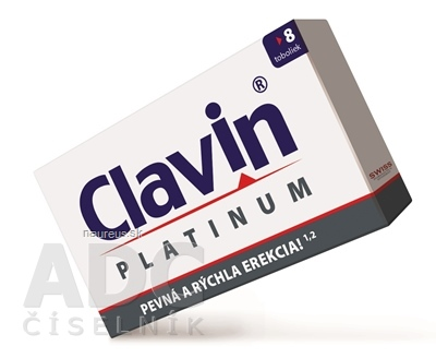 Simply You Pharmaceuticals a.s. Clavin PLATINUM 8 ks
