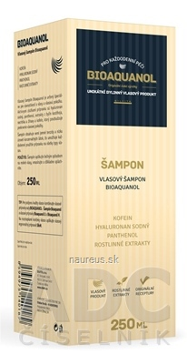 SILVITA s.r.o. BIOAQUANOL bylinný vlasový šampón 1x250 ml