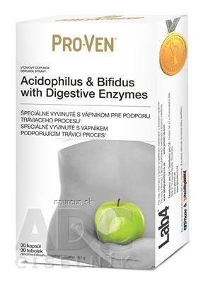Cultech Limited PRO-VEN Acidophilus & Bifidus cps with Digestive Enzymes 1x30 ks 30 ks