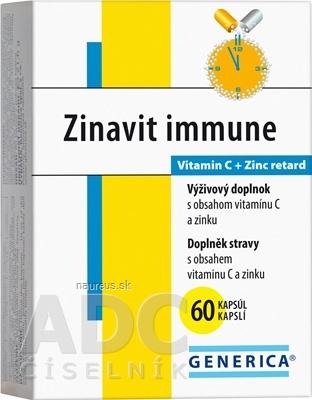 GENERICA spol. s r.o. GENERICA Zinavit immune cps 1x60 ks 60 ks