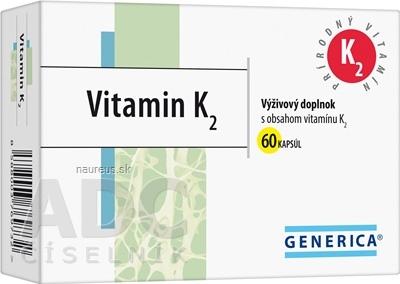 GENERICA spol. s r.o. GENERICA Vitamin K2 60 ks