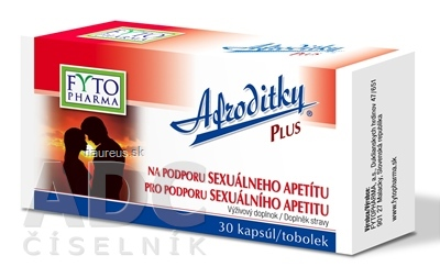 FYTOPHARMA, a.s. FYTO Afroditky PLUS cps 1x30 ks 30 ks