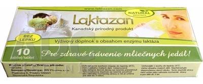 Gelda Scientific LAKTAZAN tablety 10 ks