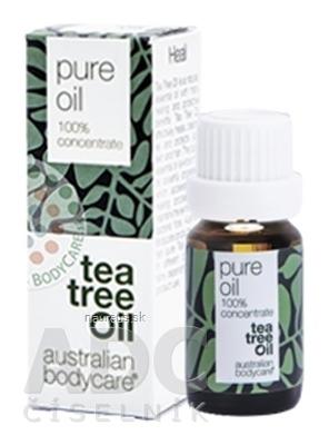 Australian Bodycare Continental ABC AUSTRALIAN BODYCARE TEA TREE OIL original 100% austrálsky čajovníkový olej 1x10 ml 10 ml