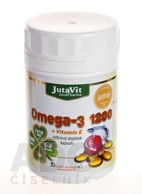 JutaVit Omega-3 1200 + vitamín E cps 1x100 ks