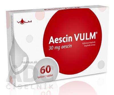 VULM s.r.o. Aescin VULM 30 mg tbl flm 1x60 ks 60 ks