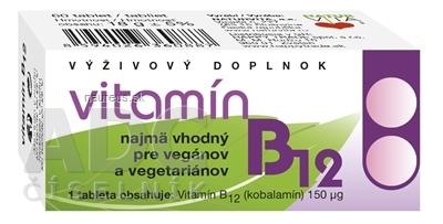 NATURVITA, a.s. NATURVITA VITAMÍN B12 tbl 1x60 ks 60 ks