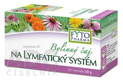 FYTOPHARMA, a.s. FYTO Bylinný čaj NA LYMFATICKÝ SYSTÉM 20x1,5 g (30 g) 20 ks