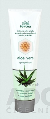 VUP a.s. FORTEA aloe vera s propolisom krém na ruky a telo 1x100 g