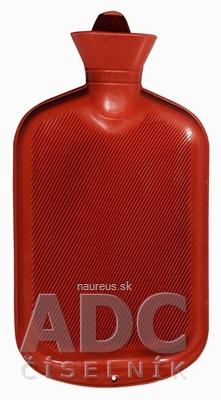 Termofor č.2,5 - zahrievacia gumená fľaša (pre 1,2 litra vody) 1x1 ks