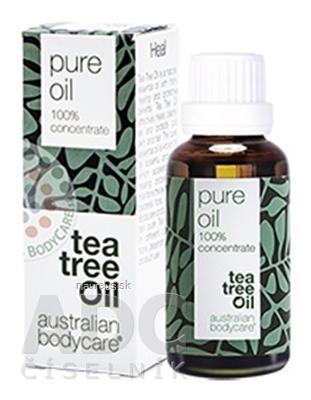 Australian Bodycare Continental ABC AUSTRALIAN BODYCARE TEA TREE OIL original 100% austrálsky čajovníkový olej 1x30 ml 30 ml