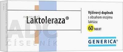 GENERICA spol. s r.o. GENERICA Laktoleraza tbl 1x60 ks 60 ks
