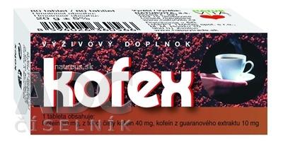 NATURVITA, a.s. NATURVITA KOFEX tbl 1x80 ks 80 ks