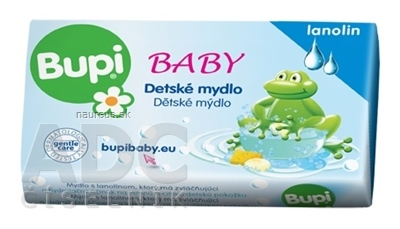 PALMA a.s. Bupi BABY Tuhé mydlo s lanolínom 1x100 g 100 g