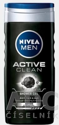 BEIERSDORF AG NIVEA MEN SPRCHOVÝ GÉL Active Clean 1x250 ml 1 x 250 ml