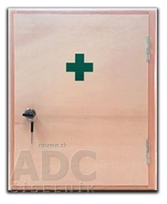 Lekárnička drevená veľká závesná 1x1 ks