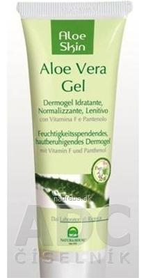 Natura House S.r.l. NH - Aloe Skin Aloe Vera gél s vit. F a pantenolom gél (hydratačný, regeneračný, upokojujúci) 1x50 ml