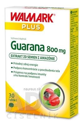 WALMARK, a.s. WALMARK Guarana 800 mg tbl (inov. obal 2019) 1x30 ks 30 ks