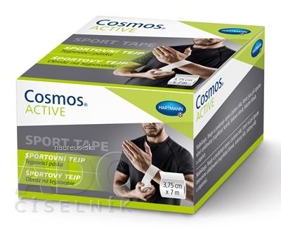 Cosmos ACTIVE Športový tejp biely (3,75cm x 7m) 1x1 ks