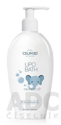 Oceanic S.A. Ceumed Baby Lipo Bath Na suchú až veľmi suchú pokožku 1x200 ml