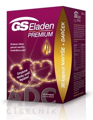 GREEN - SWAN PHARMACEUTICALS CR, a.s. GS Eladen PREMIUM darček 2020 cps 60+30 navyše (90 ks)