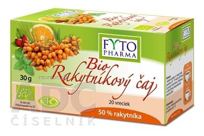 FYTOPHARMA, a.s. FYTO Bio Rakytníkový čaj 20 x 1.5 g