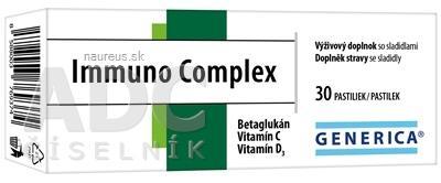 GENERICA spol. s r.o. GENERICA Immuno Complex pastilky 1x30 ks 30 ks