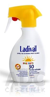 STADA Arzneimittel AG Ladival PRE DETI SPF 30 sprej na ochranu proti slnku 1x200 ml 200 ml