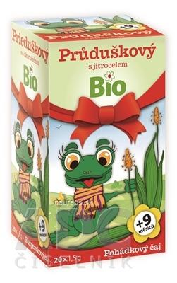 MEDIATE s.r.o. APOTHEKE ROZPRÁVKA Prieduškový so skorocelom Bio bylinný čaj (od ukončeného 9. mesiaca) 20x1,5 g (30 g)
