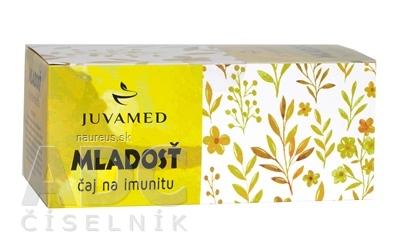 JUVAMED s.r.o. JUVAMED MLADOSŤ čaj na imunitu bylinný čaj v nálevových vreckách 20x1,5 g (30 g)