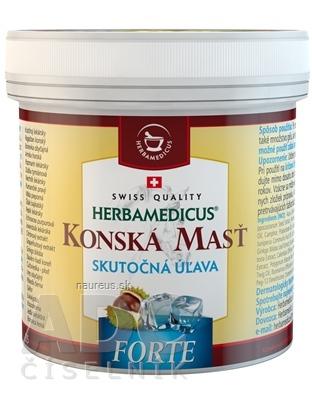 Herbamedicus GmbH KONSKÁ MASŤ FORTE CHLADIVÁ 1x250 ml 250 ml