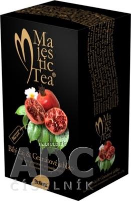 BIOGENA CB spol. s r.o. Biogena Majestic Tea Biely čaj & Granátové jablko čaj 20x1,5 g (30 g)